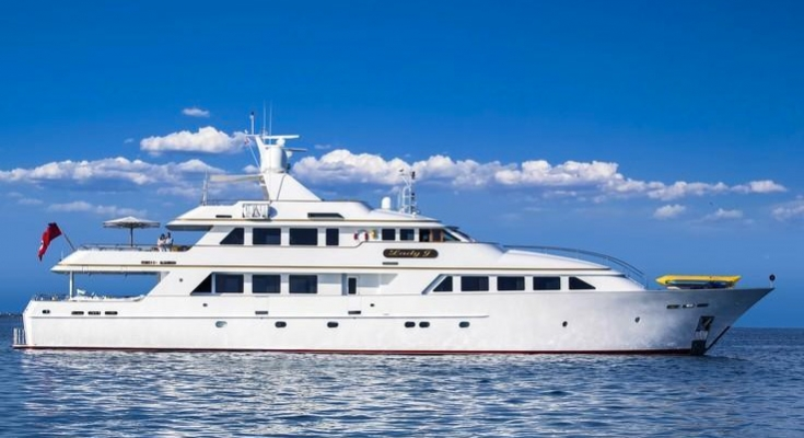M/Y Lady J available for charter from Carol Kent Yacht Charters