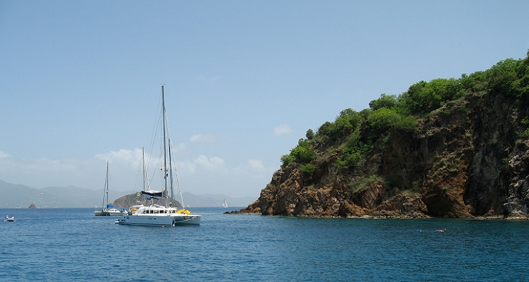 CRUISING IN THE BRITISH VIRGIN ISLANDS