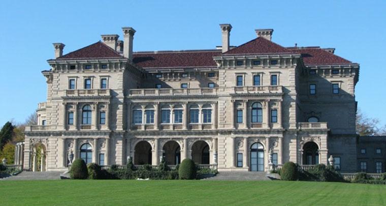 Breakers Mansion luxury Newport charter