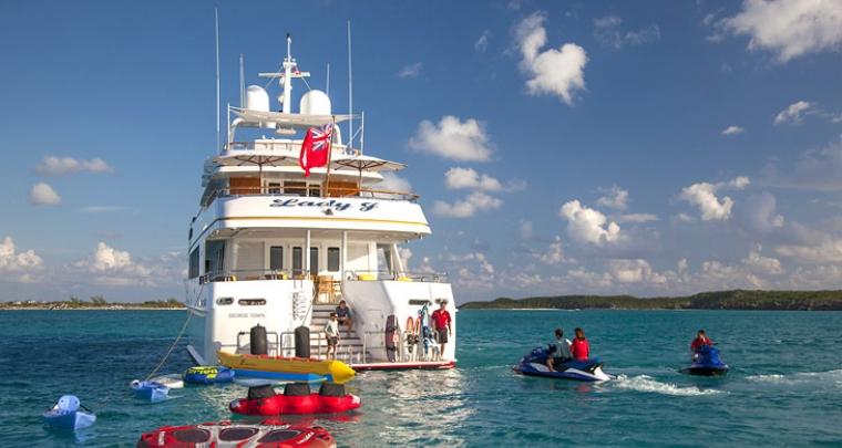 Lady J Luxury Caribbean yacht charter Carol Kent Yacht Charters