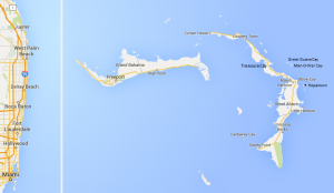 Abacos Itinerary Map