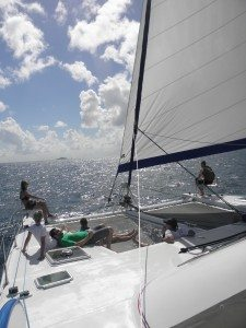 Caribbean Flotilla Yacht Vacations' Sailing on VISION 11.24.13