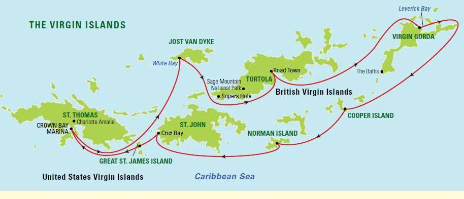 Exploring_the_US__British_Virgin_Islands - Carol Kent Yacht Charters