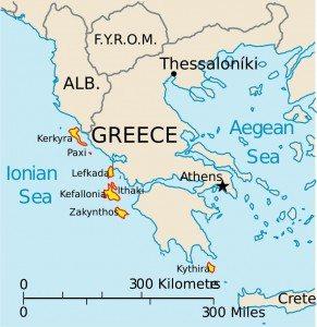 Cruising the Ionnian Islands out of Corfu