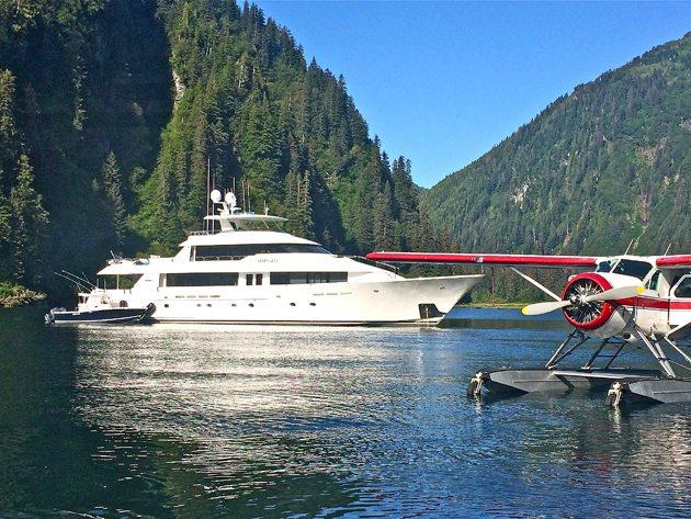 Alaska yacht charter collection 2016