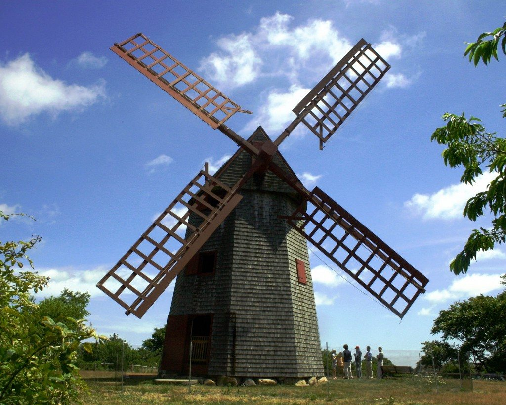 Classic windmill on Nantucket