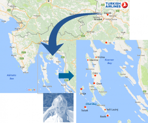 Croatia luxury yacht itinerary