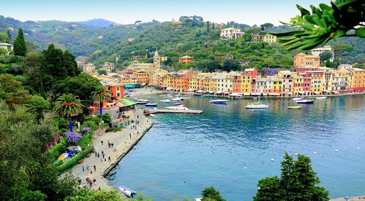 France Mediterranean port and promenade