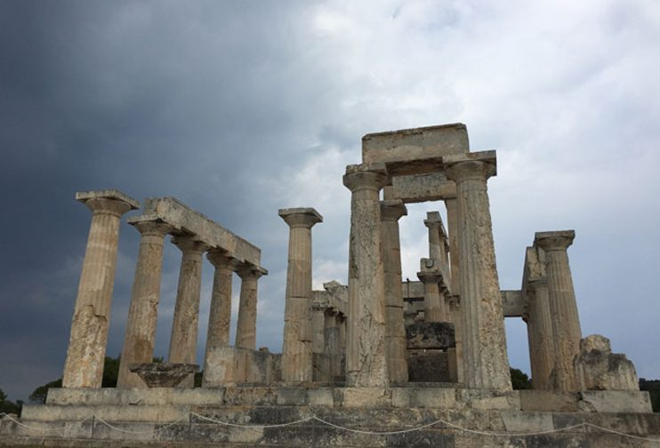 Temple of the Goddess Aphaia in Aegina, Greece