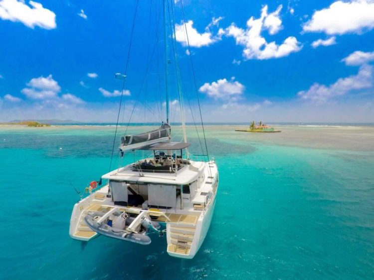 OUI CHERIE, 52' Lagoon Catamaran based in the Caribbean