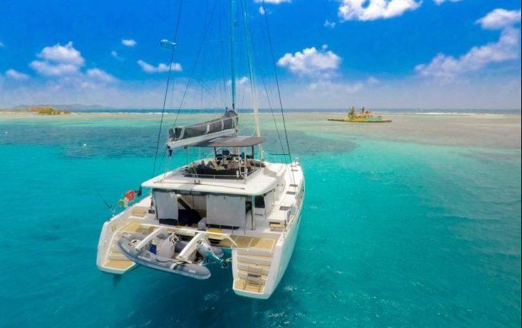OUI CHERIE, 52' Lagoon Catamaran based in the Caribbean