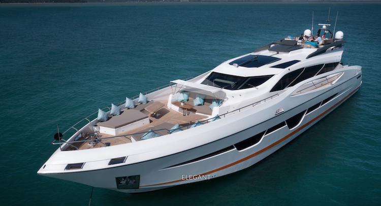 108ft Numarine motor yacht DOLCE VITA cruising in Thailand YACHTING FAM TRIP IN THAILAND