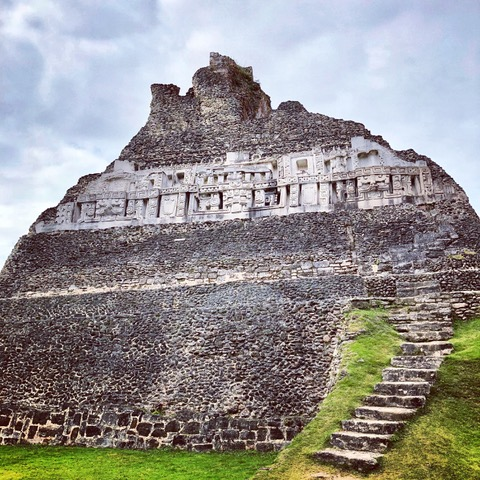 Mayan ruins at Xunanatunich, Belize