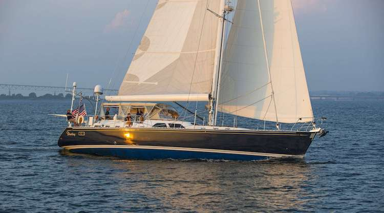 70ft Hylas sailing yacht Destiny operates in the Bahamas, Caribbean and North America