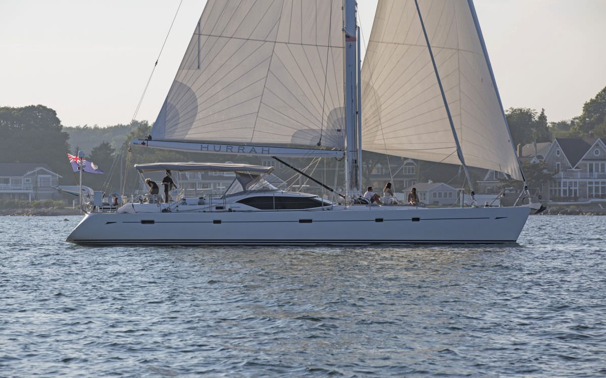 Hurrah 65ft Oyster Yachts S-Y operates in the Caribbean and the North America