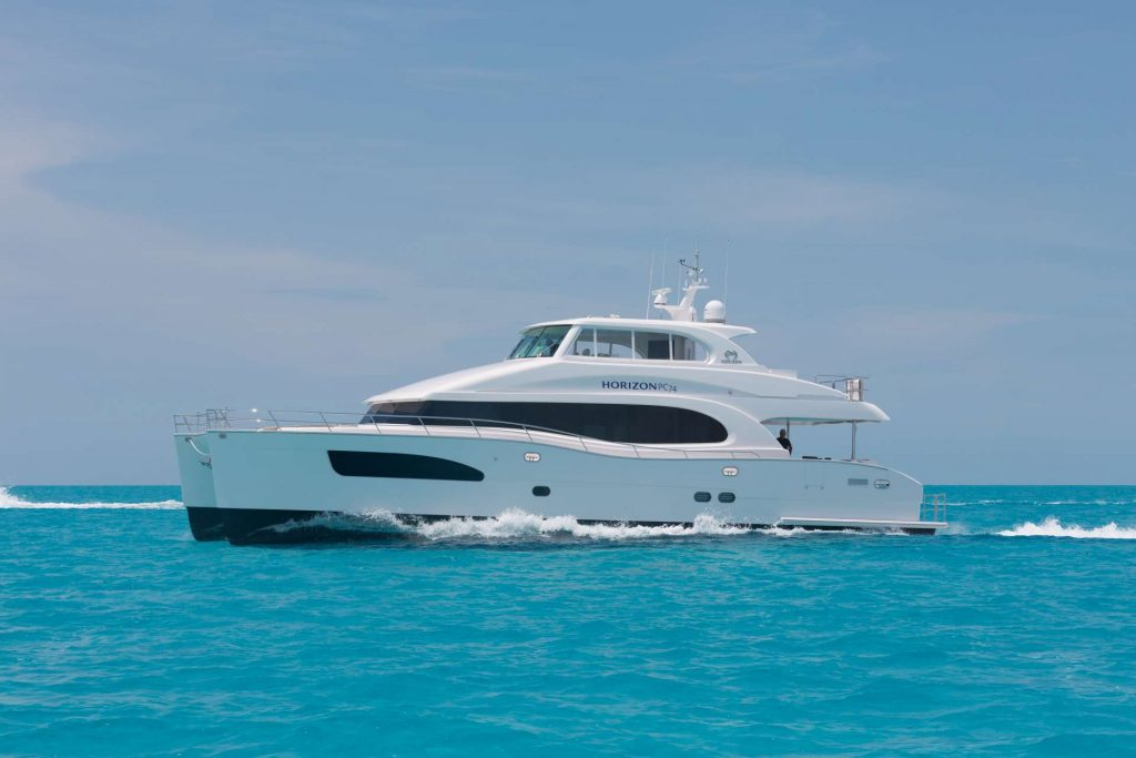Best in Show: 74ft Espinosa motor yacht SEAGLASS at sea