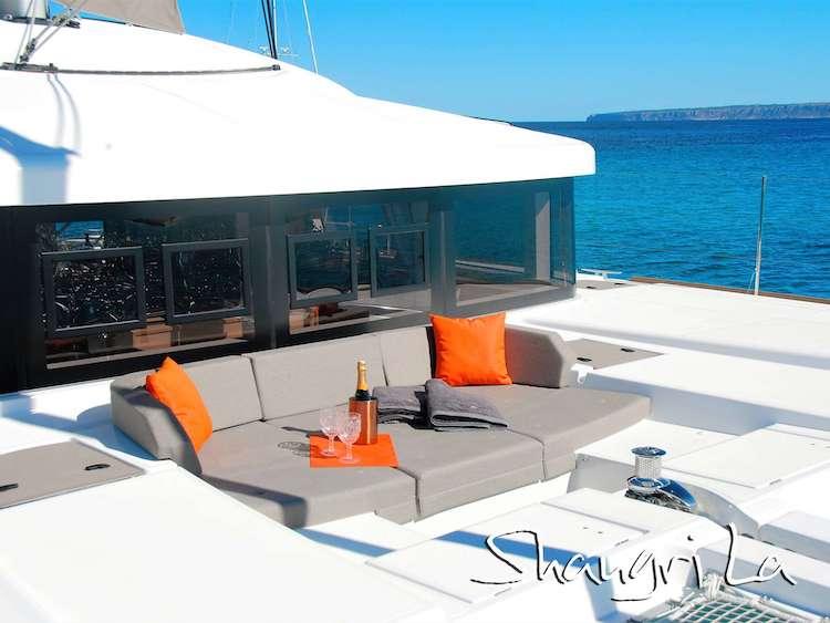 52ft Lagoon S-Y Catamaran Shangri La operating in The Caribbean