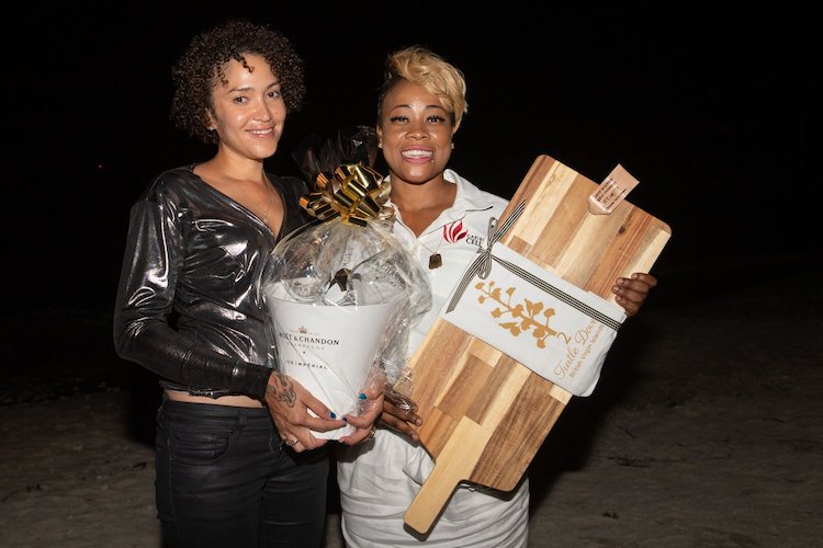 Chef Mora Nia aboard 64ft motor yacht Jans FeLion is the winner of Best Dish Overall Chefs Competition at the 2019 British Virgin Island Charter Yacht Society Show (BVICYS)