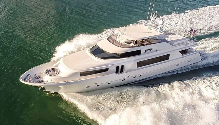 112ft Westport motor yacht JOPAJU is available in North America and the Bahamas