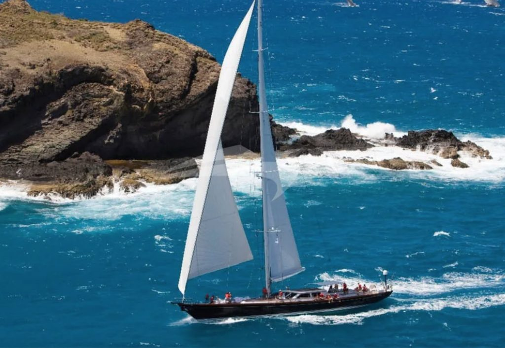 116ft Holland Jachtbouw luxury sailing yacht WHISPER off New England coast: available in North America