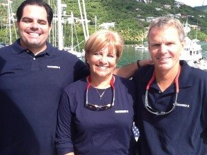 Chef Armando, Maggie and Chris Baxter