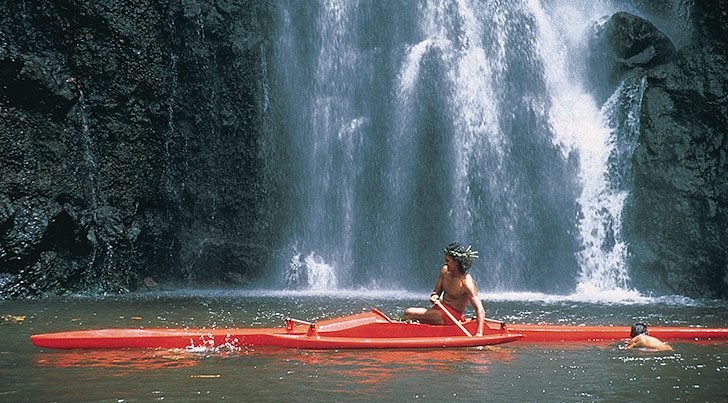 kayak-waterfall-slide