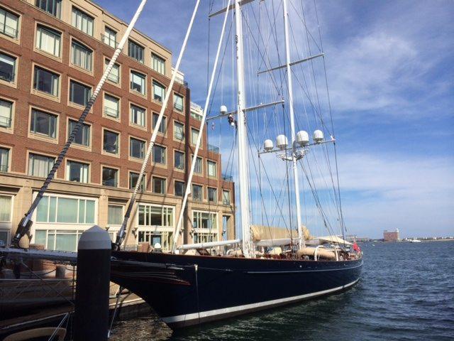 Luxury Sail yacht METEOR