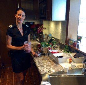 Newport Charter Show Top Yacht Chef 2015