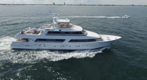 125' Motor Yacht BRIO for charter in Florida and the Bahamas