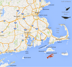 Nantucket Yacht Charter Map