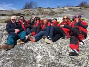 GroupInRedJackets_CKYC Sailing Sweden's Archipelago