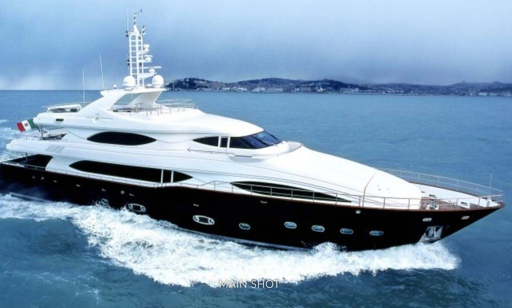 Profile of the luxurious 130' M-Y SIMA